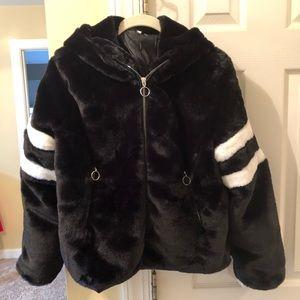 Jackets & Blazers - NEW Furry Fuzzy Teddy Soft Zipper Jacket